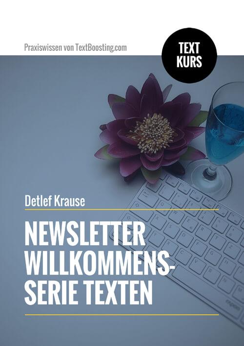 Textkurs: Newsletter Willkommensserie texten