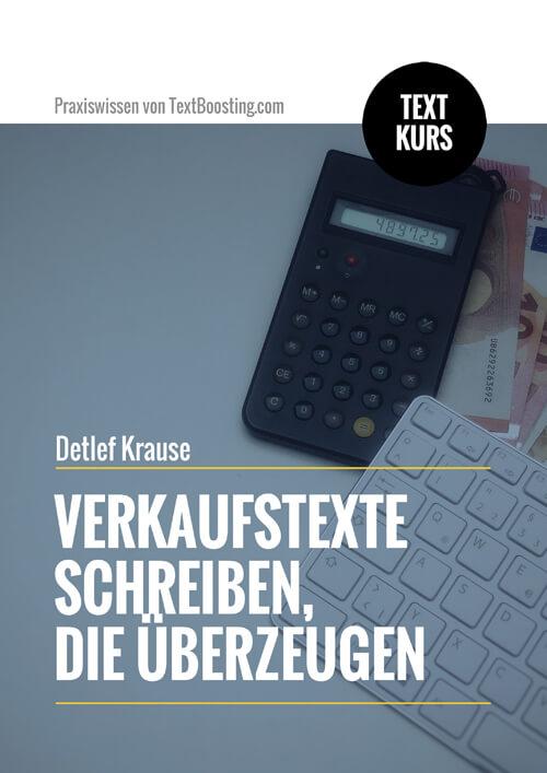 Textkurs: Verkaufstexte schreiben