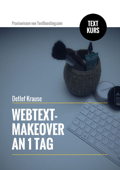 Textkurs: Webtext-Makeover an 1 Tag