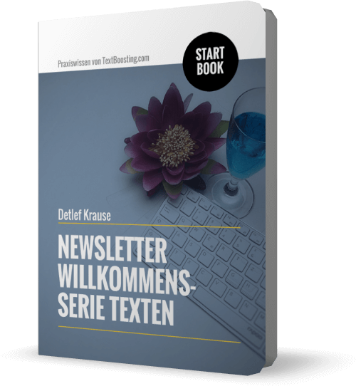 StartBook: Newsletter Willkommensserie texten
