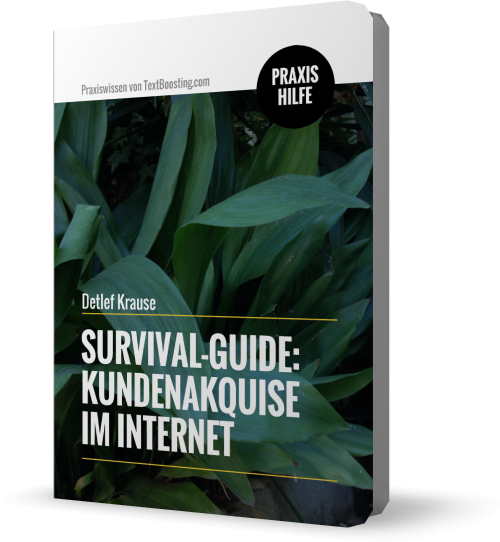 Survival-Guide: Kundenakquise im Internet