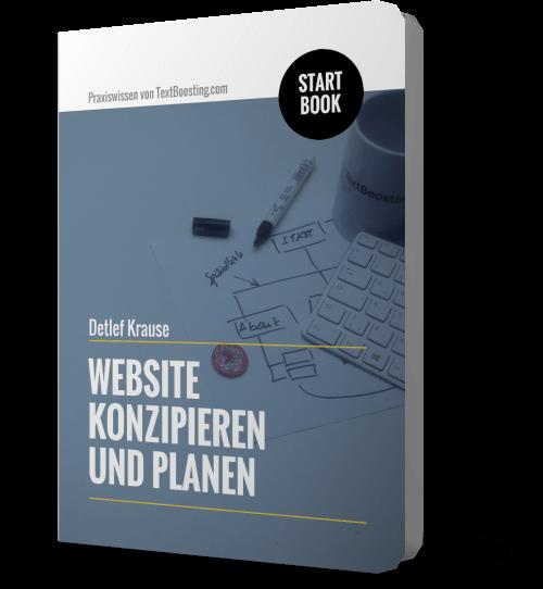 StartBook: Website konzipieren und planen